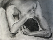 Life-Drawing-11-Male-figure-grief,-Cyndi-Strid,-Artist,-151