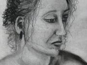 Life-Drawing-18-female-portrait,-Cyndi-Strid,-Artist