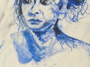 Life-Drawing-26-portrait-female-blue,-Cyndi-Strid,-Artist,-6592