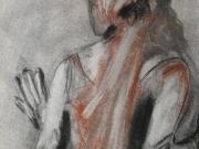 Life-Drawing-7-Figure-Veil,-Cyndi-Strid,-Artist-109